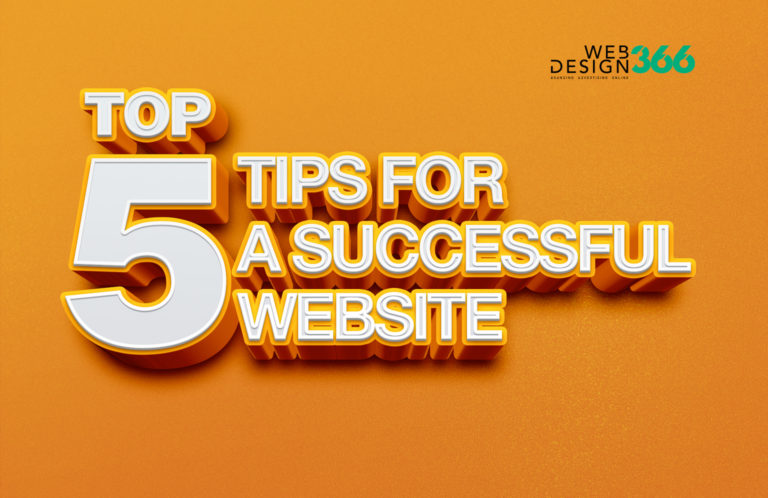 5 Top Tips for a Successful Website